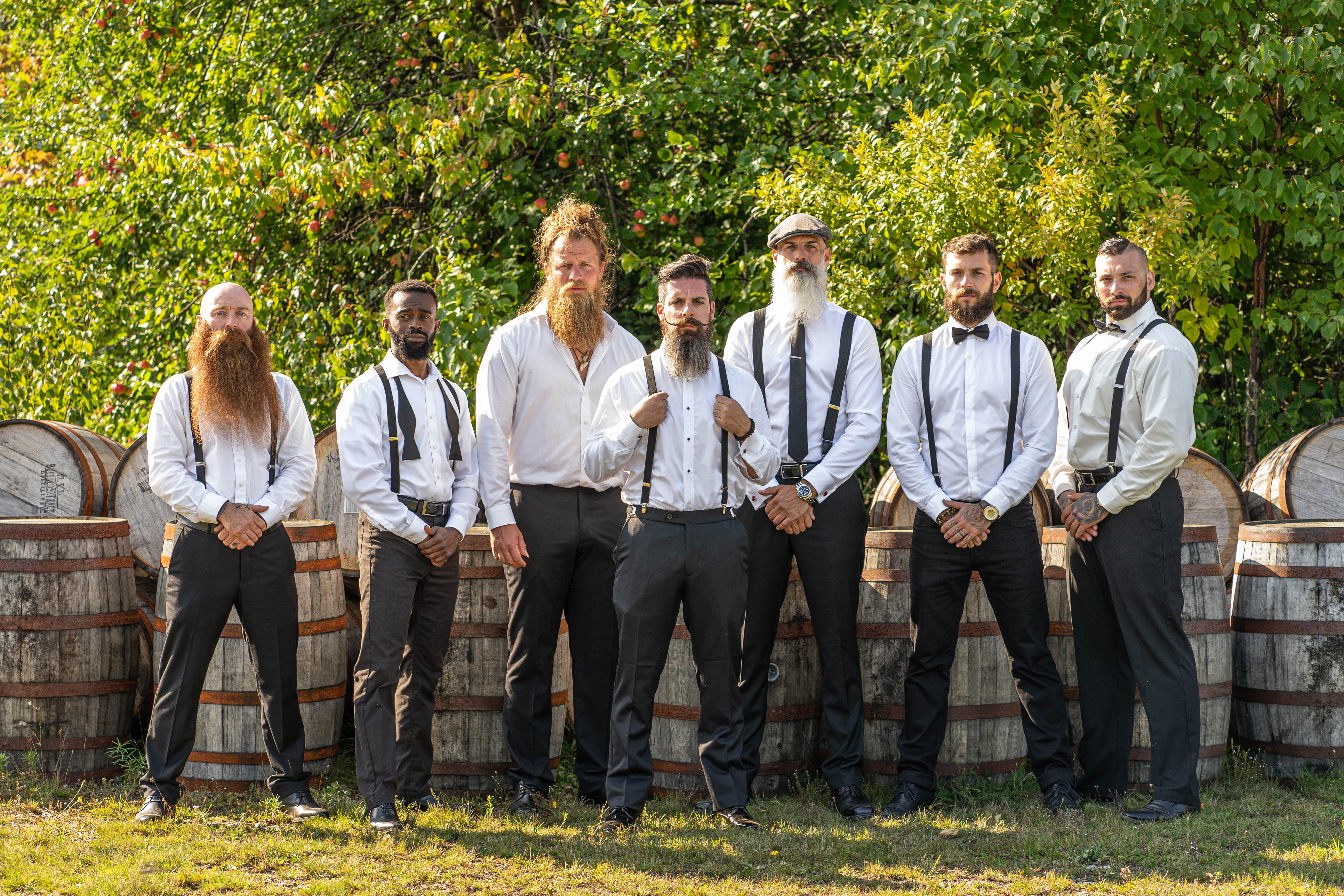 A few of the Educated Beards Ambassadors.