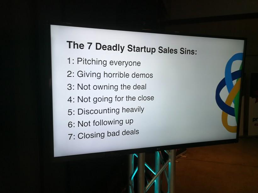 Steli Efti's Seven Deadly Startup Sales Sins