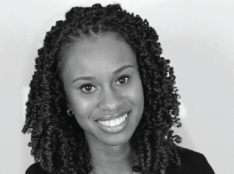 Ariel Gough, CEO of Bailly Cosmetics, winner of the Youth Impact Award.