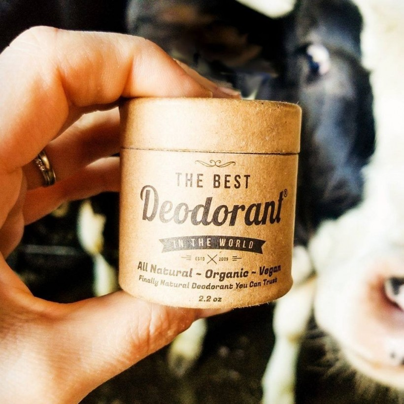 The Best Deodorant in the World is packaged in 100 per cent biodegradable material