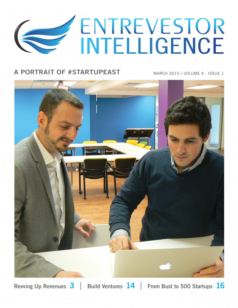 Entrevestor Intelligence: An in-depth portrait of #Startupeast in 2014.
