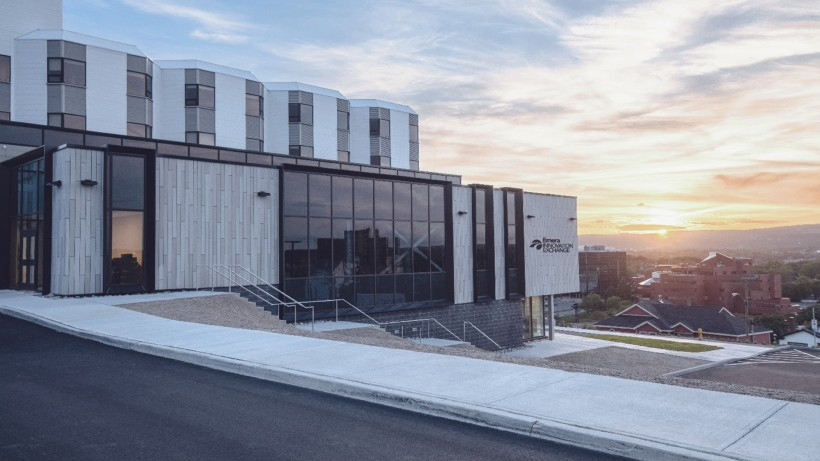 The Emera Innovation Hub now houses Genesis' enlarged headquarters overlooking St. John's.