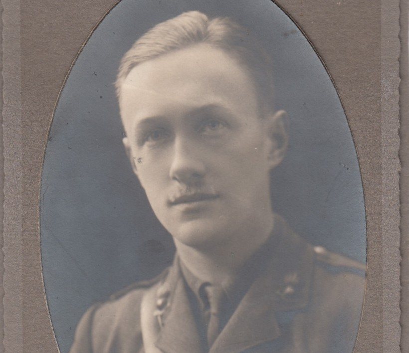 Harry MacKeen, a newly commissioned officer in 1915