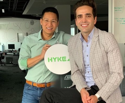 Trung Trinh, left, and Sid Eskand: The HYKE Co-Founders.