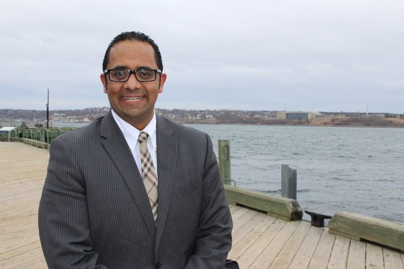 Akram Al-Otumi is the founder of Spritely (Photo Sofia Ortega)