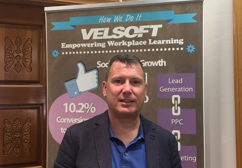 Velsoft Preident Jim Fitt