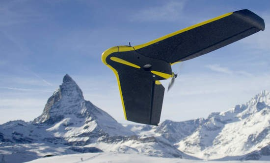 SenseFly eBee drone, one of the UAVs to be maintained using RemoteSpark.