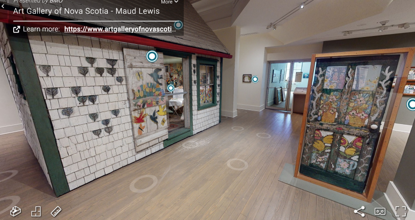 Part of the Maud Lewis Exhibition