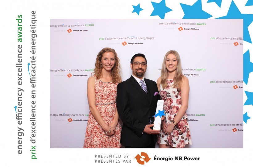 (left to right)  Mariah Belyea, Energy Analyst  Amit Virmani, CEO & Founder  Sarah Arsenault, Marketing & Communications