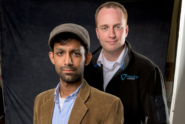 Resson Co-Founders Rishin Behl, left, and Peter Goggin.