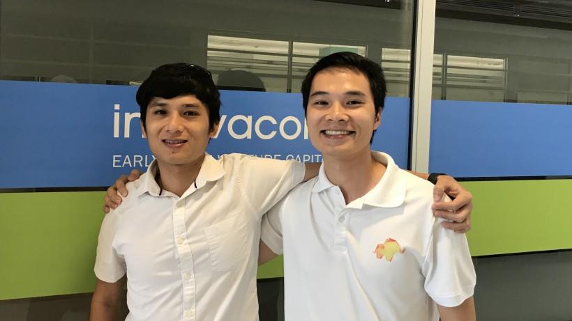 Henry Pham, left, and Joe Nguyen