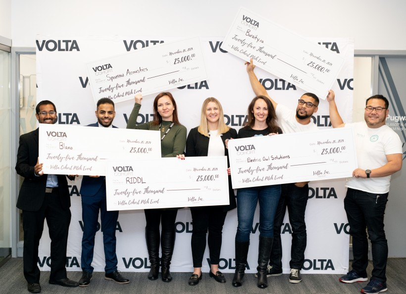 The Volta Cohort Winners in the November 2019 event.
