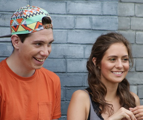 Wear Your Label Co-Founders Kyle MacNevin and Kayley Reed.
