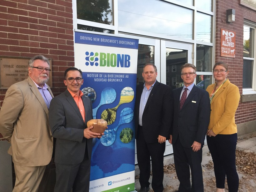 ADI Director of Business Development José Molina, second from left, accepted the award