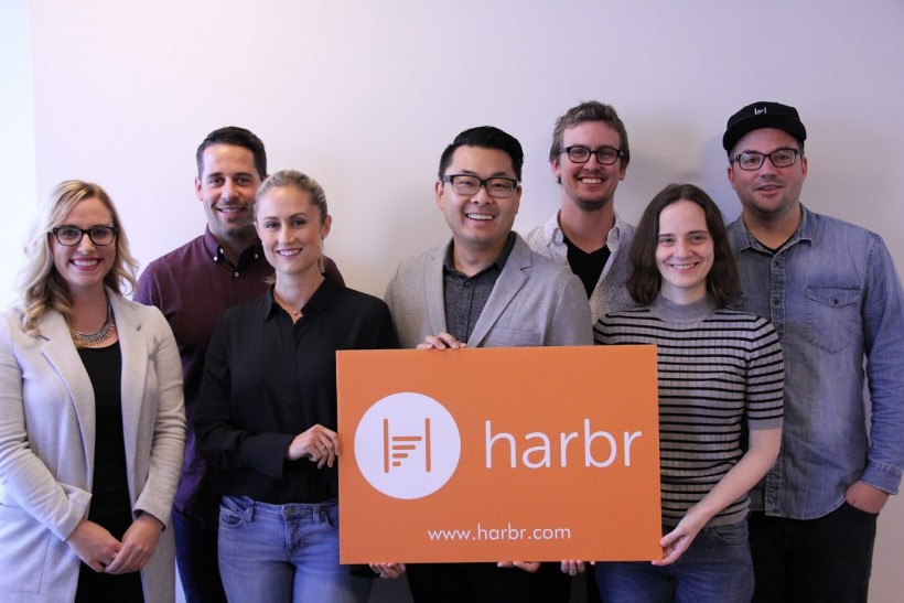 The Harbr Team: Approaching gender parity.