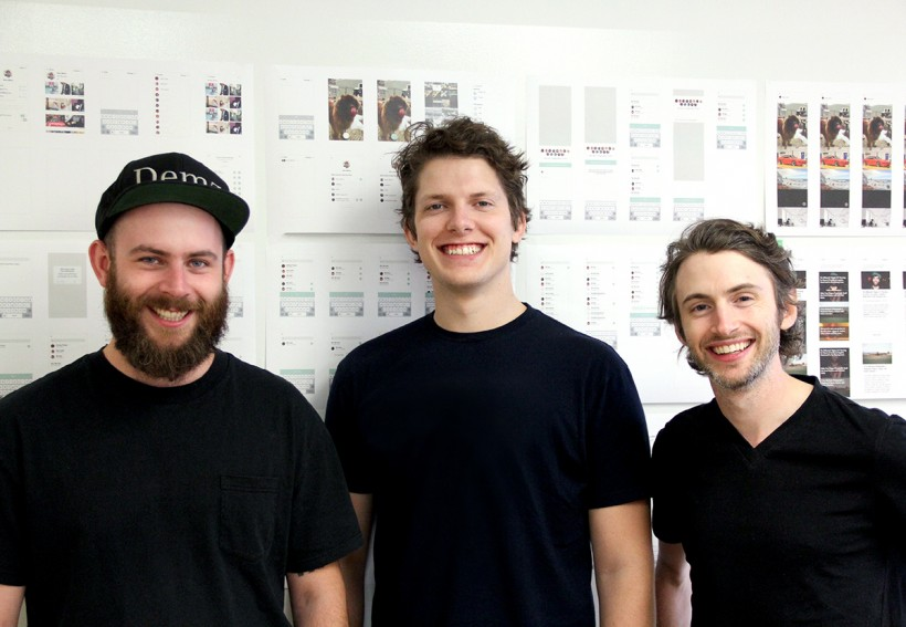Gavin Uhma, right, formed Sidestory with Co-Founders Brian Jeffcock and Ben DeCoste