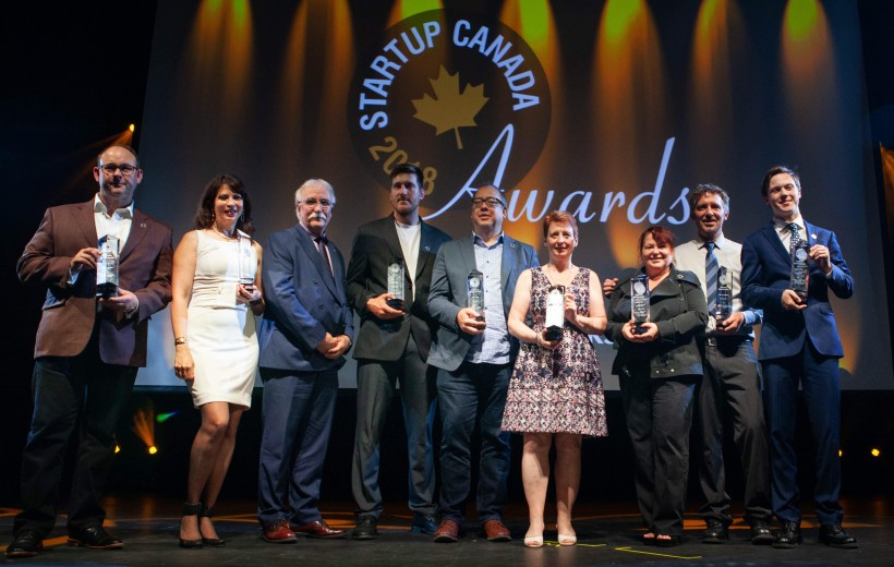 All the winners from the regional Startup Canada Awards